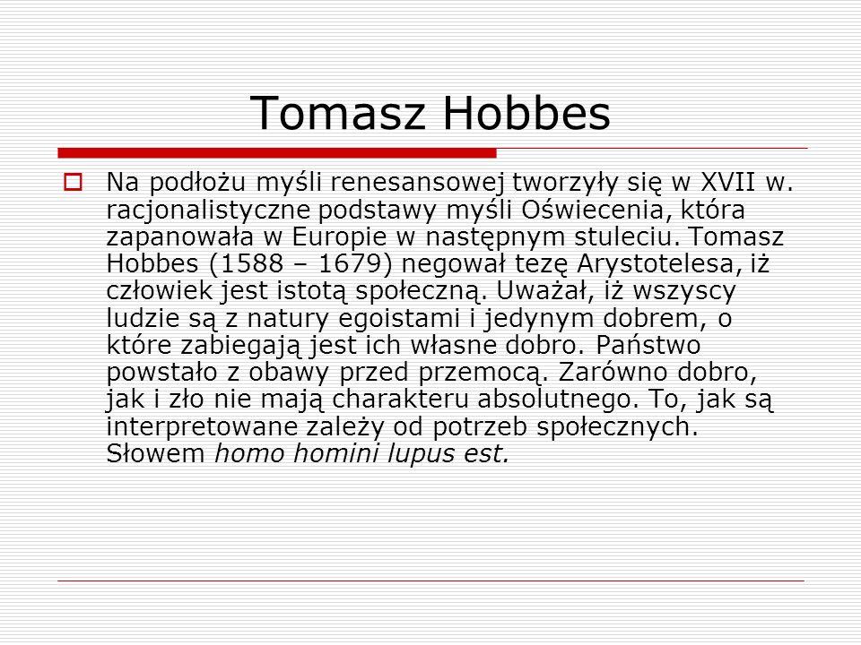 Tomasz Hobbes
