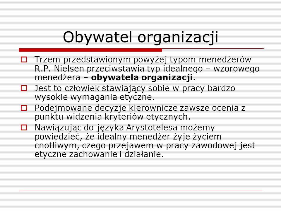 Obywatel organizacji