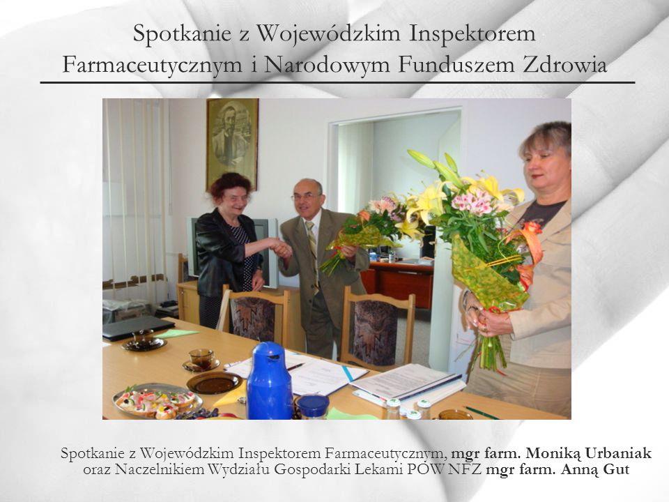 Spotkanie z Wojewódzkim Inspektorem Farmaceutycznym i Narodowym Funduszem Zdrowia