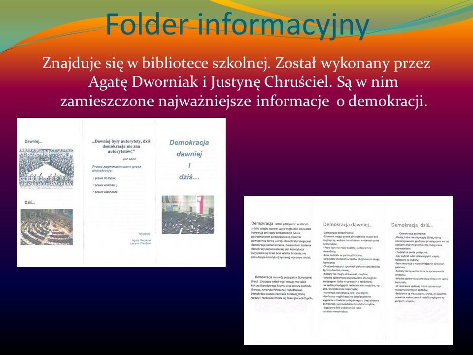Folder informacyjny