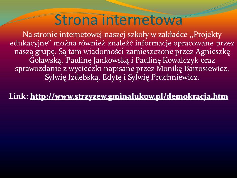 Link: http://www.strzyzew.gminalukow.pl/demokracja.htm
