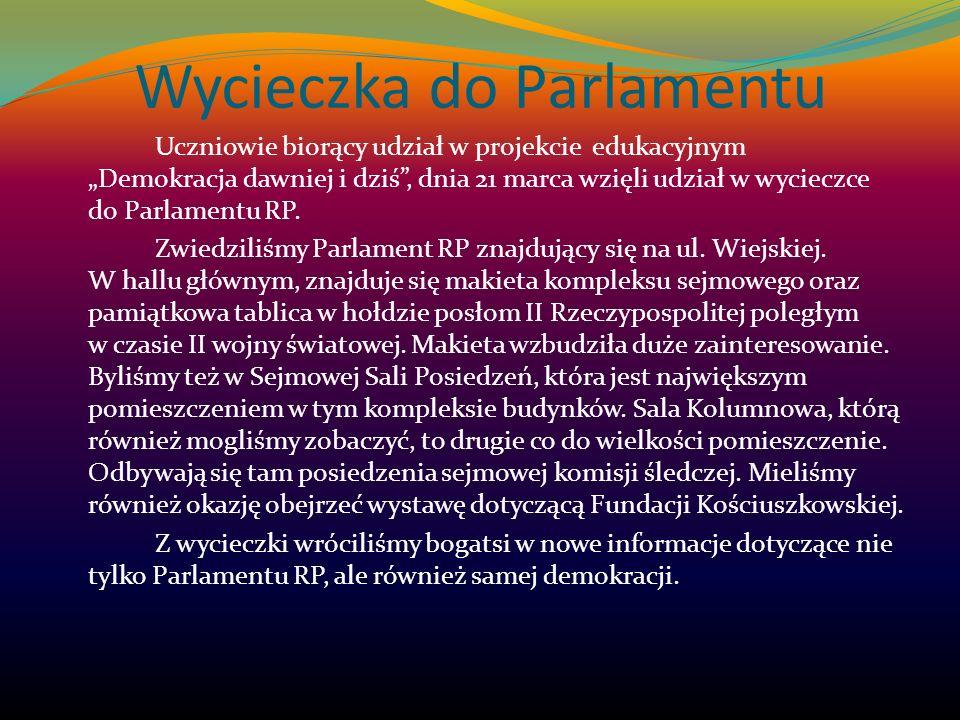Wycieczka do Parlamentu