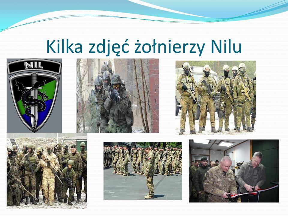 Kilka zdjęć żołnierzy Nilu