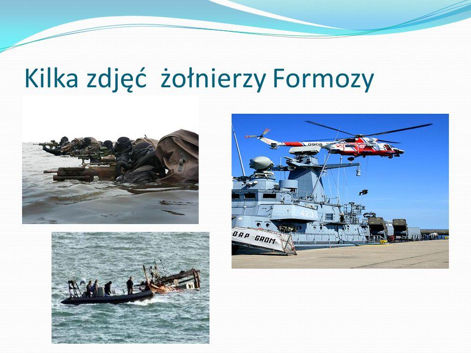 Kilka zdjęć żołnierzy Formozy