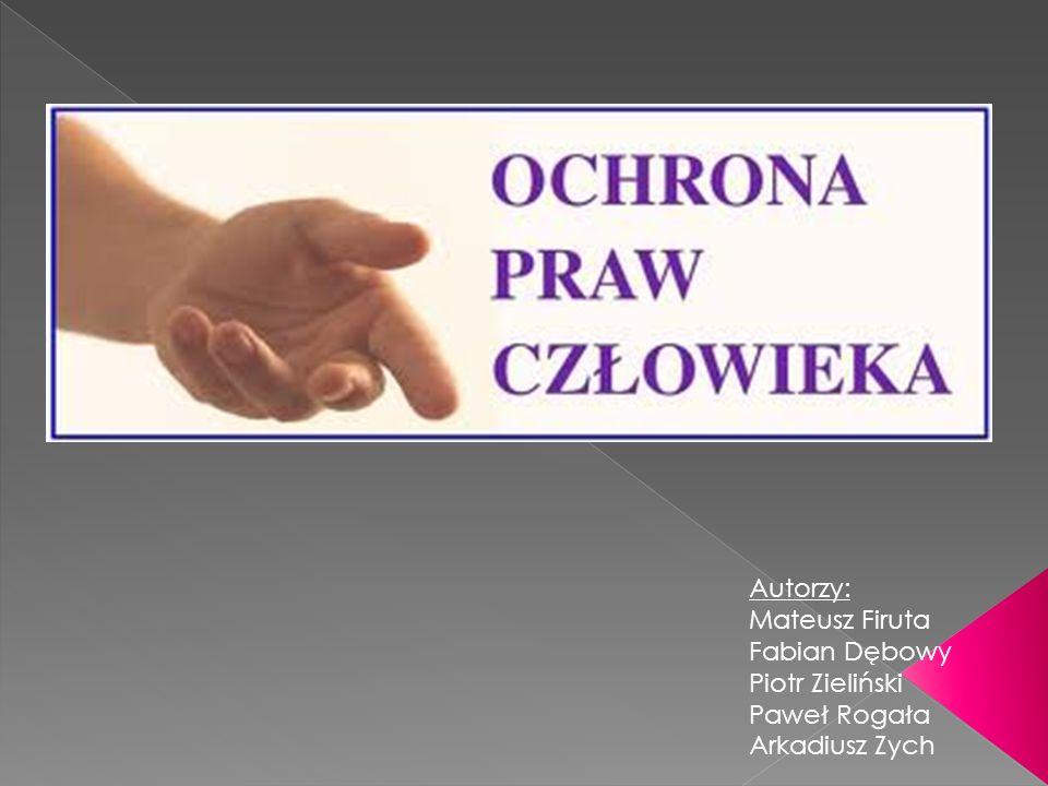 Autorzy: Mateusz Firuta Fabian Dębowy Piotr Zieliński Paweł Rogała Arkadiusz Zych