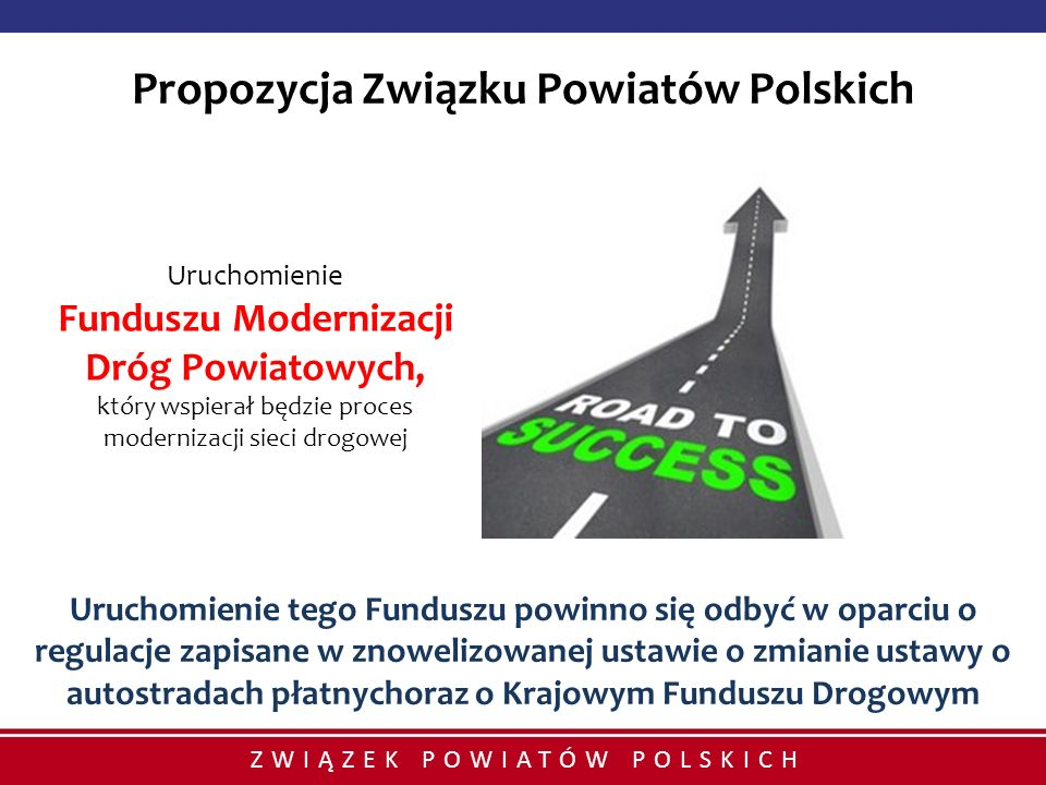 Propozycja Związku Powiatów Polskich