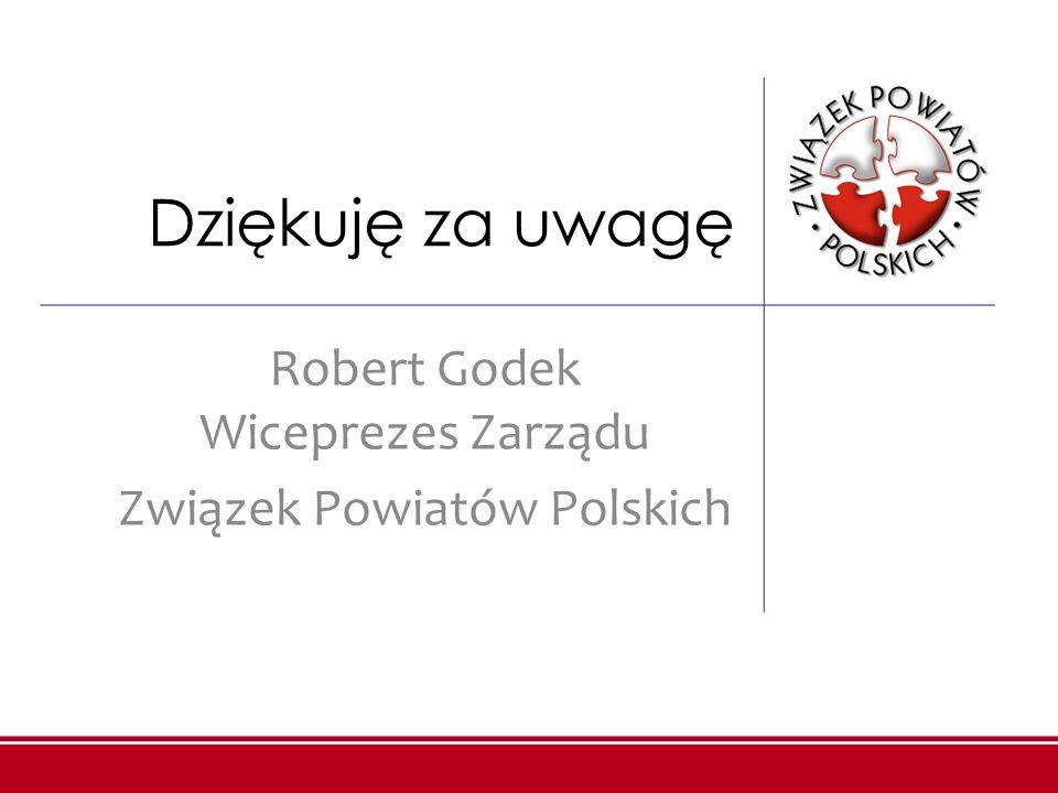 Robert Godek Wiceprezes Zarządu Związek Powiatów Polskich
