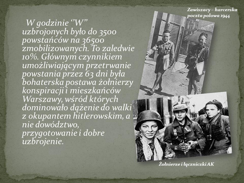 Zawiszacy – harcerska poczta polowa 1944