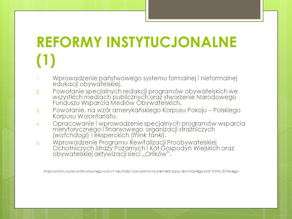 REFORMY INSTYTUCJONALNE (1)
