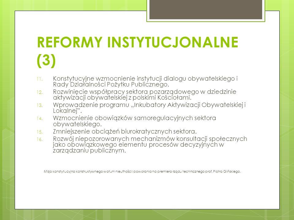 REFORMY INSTYTUCJONALNE (3)