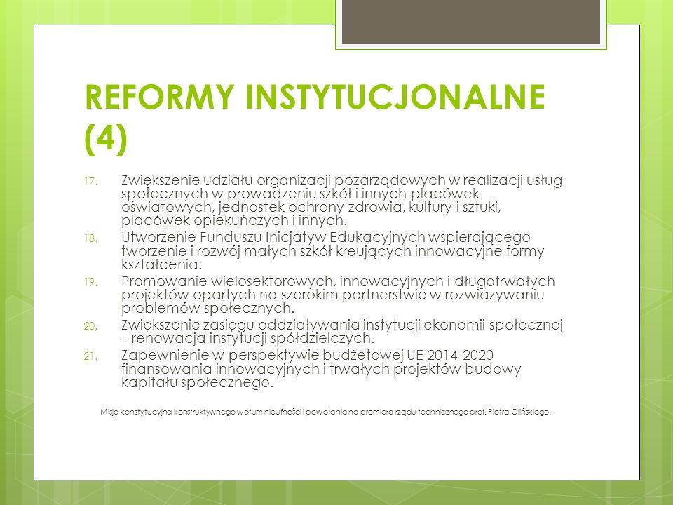 REFORMY INSTYTUCJONALNE (4)