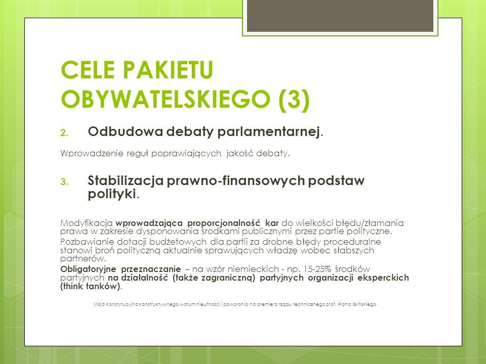 CELE PAKIETU OBYWATELSKIEGO (3)