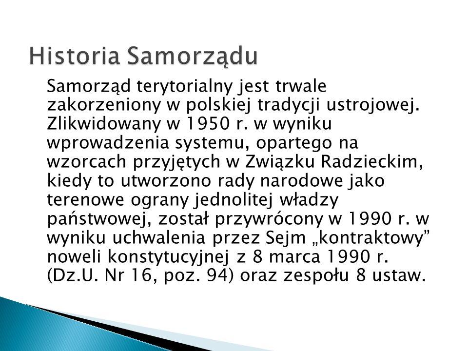 Historia Samorządu