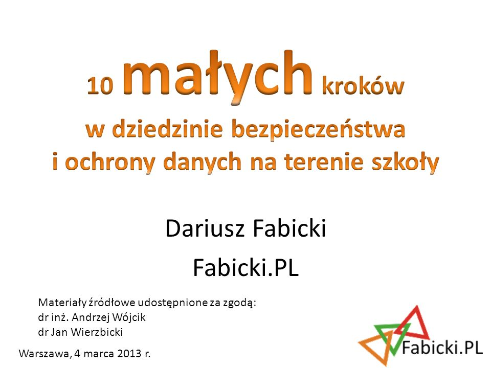 Dariusz Fabicki Fabicki.PL
