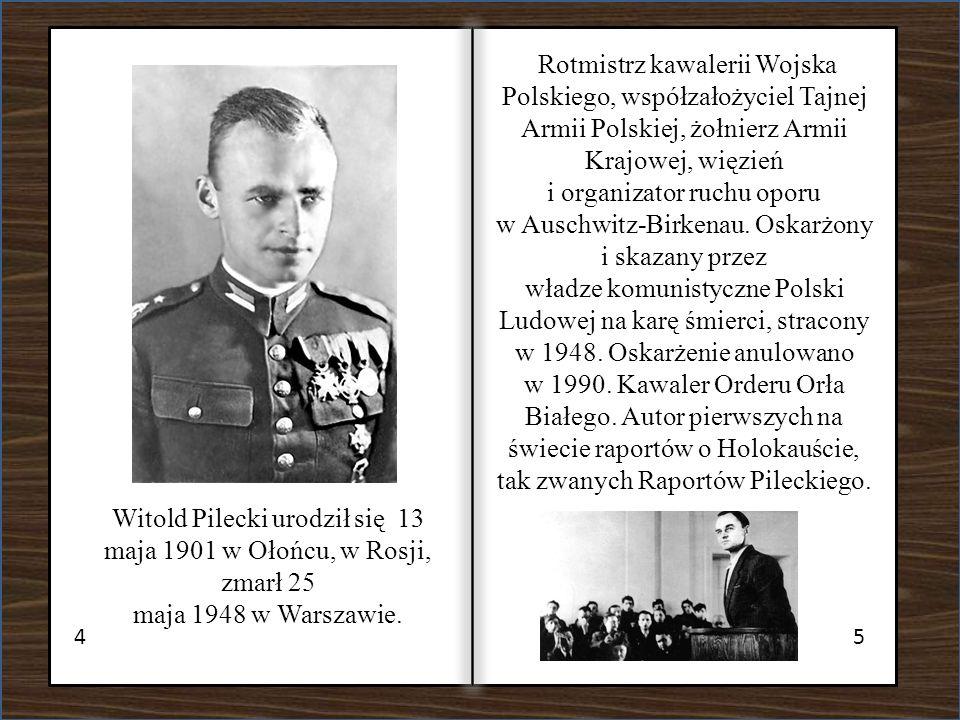 i organizator ruchu oporu w Auschwitz-Birkenau. Oskarżony