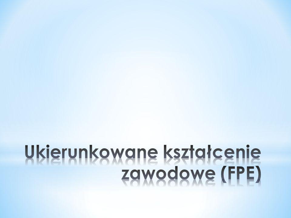 Ukierunkowane kształcenie zawodowe (FPE)