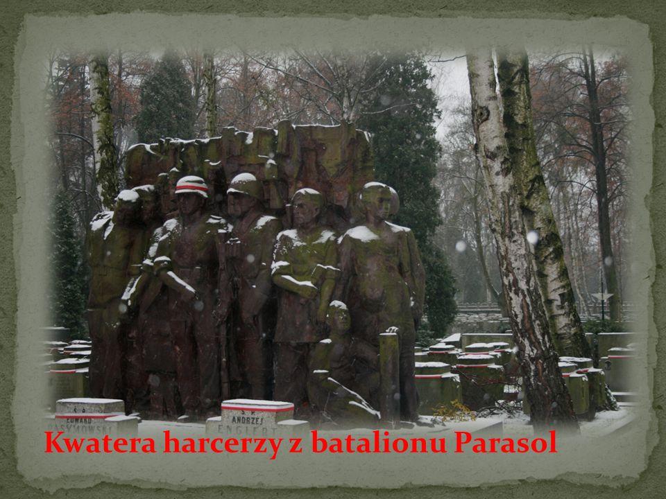 Kwatera harcerzy z batalionu Parasol