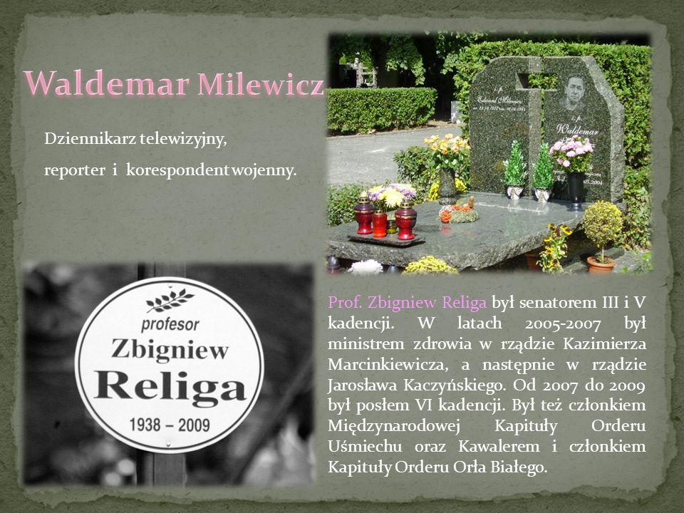 Waldemar Milewicz Dziennikarz telewizyjny,