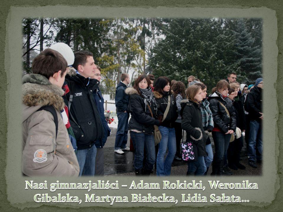 Nasi gimnazjaliści – Adam Rokicki, Weronika Gibalska, Martyna Białecka, Lidia Sałata…