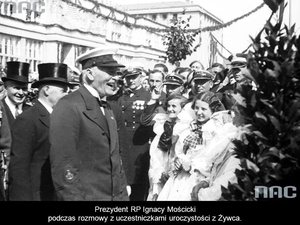 Prezydent RP Ignacy Mościcki