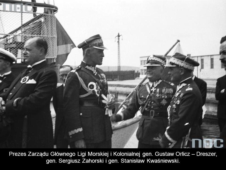 gen. Sergiusz Zahorski i gen. Stanisław Kwaśniewski.