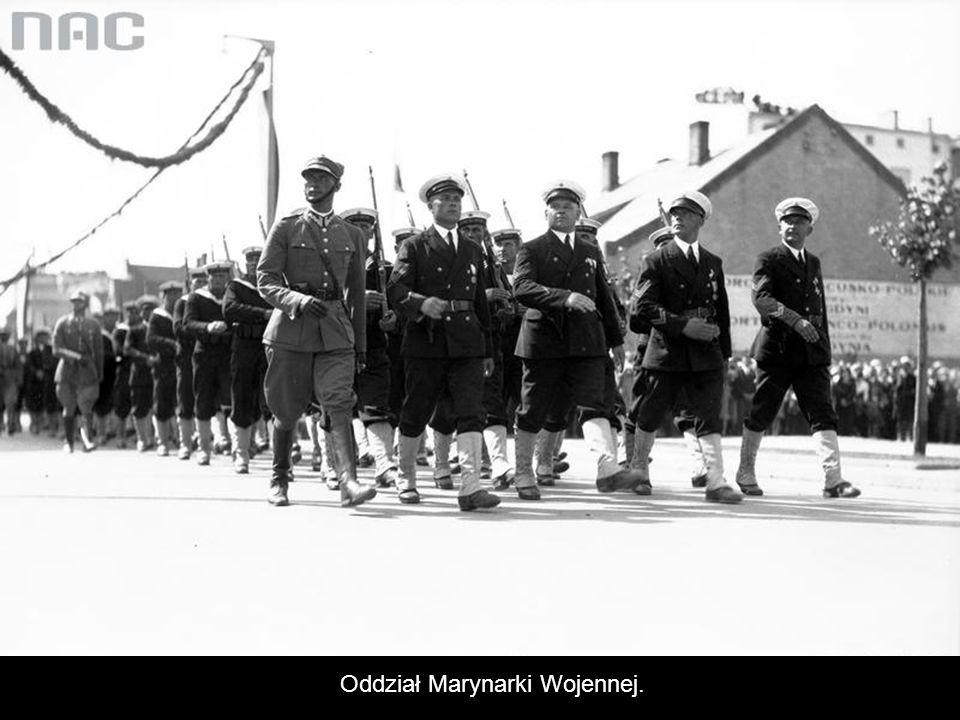 Oddział Marynarki Wojennej.