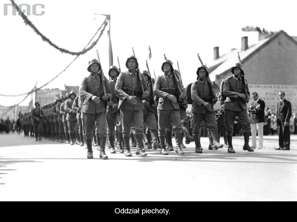 Oddział piechoty.