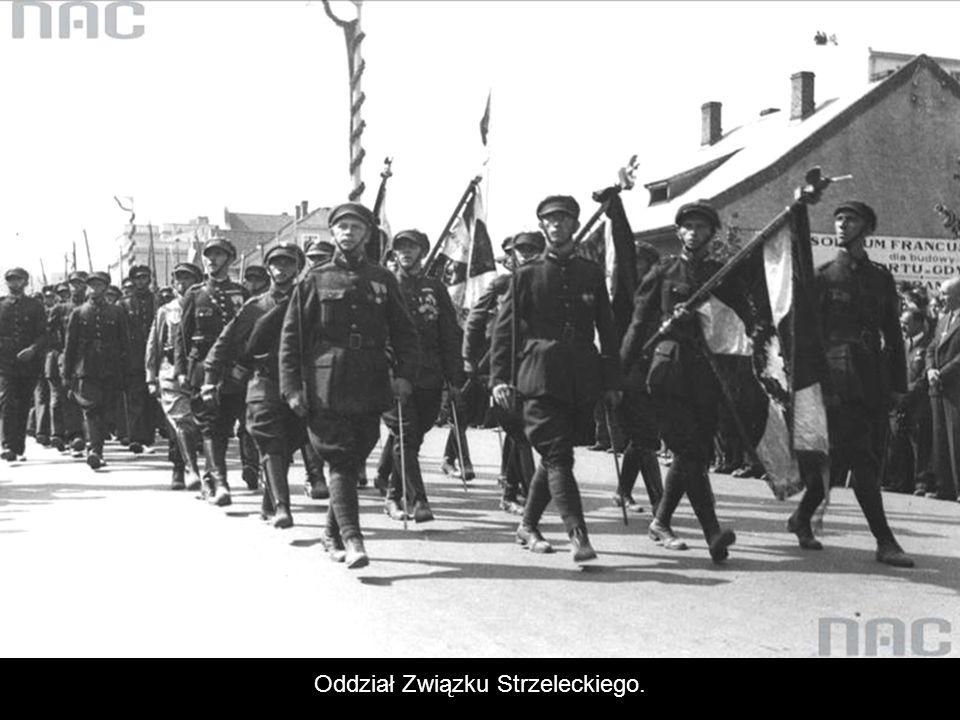 Oddział Związku Strzeleckiego.