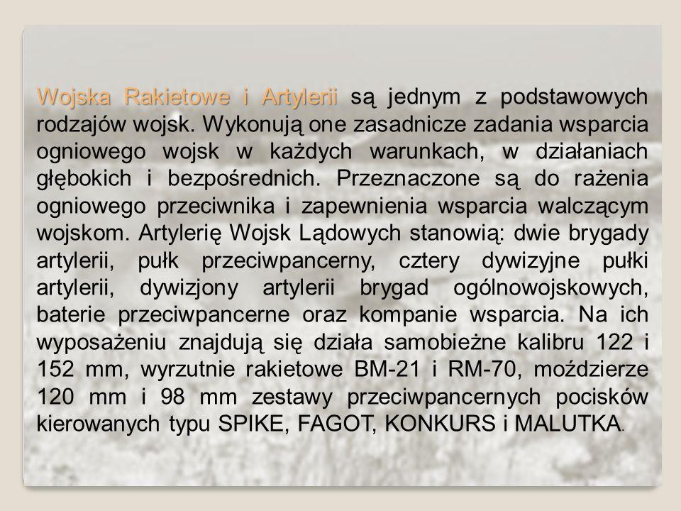 Wojska Rakietowe i Artylerii są jednym z podstawowych rodzajów wojsk