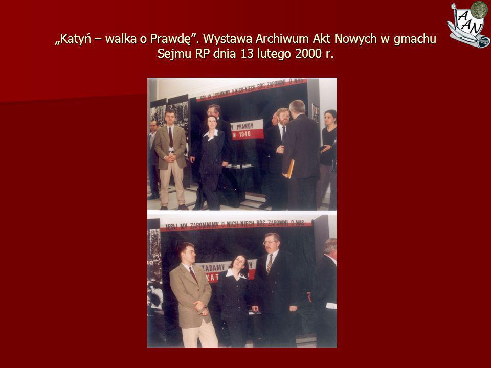 """""""Katyń – walka o Prawdę"""