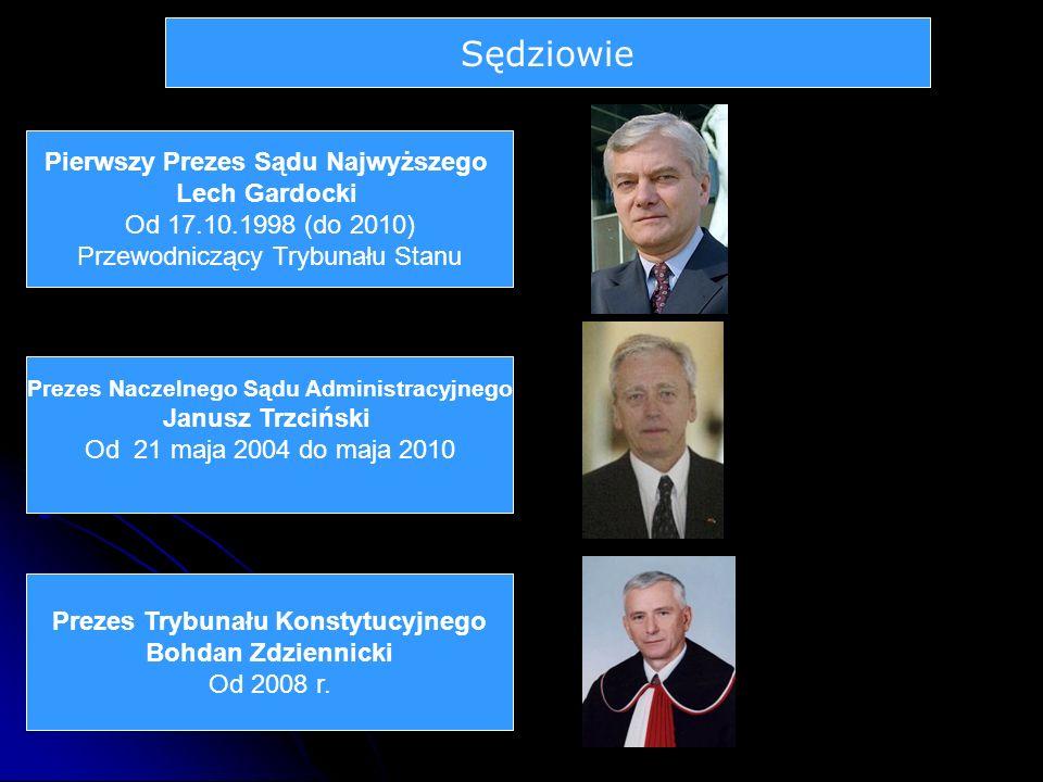 Sędziowie Pierwszy Prezes Sądu Najwyższego Lech Gardocki