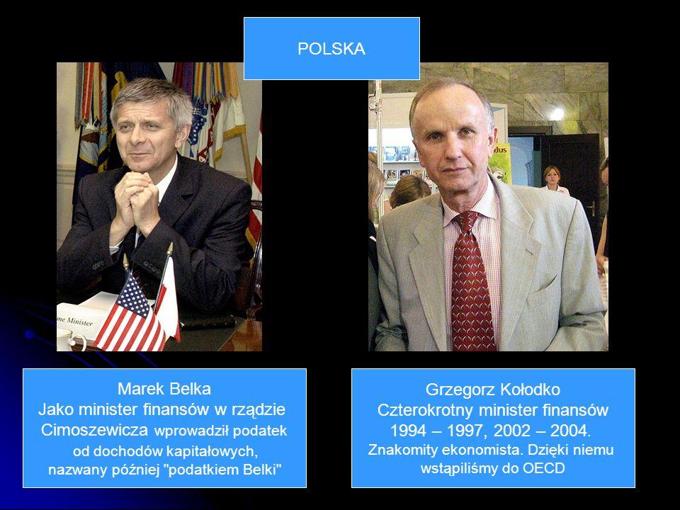 Jako minister finansów w rządzie Cimoszewicza wprowadził podatek