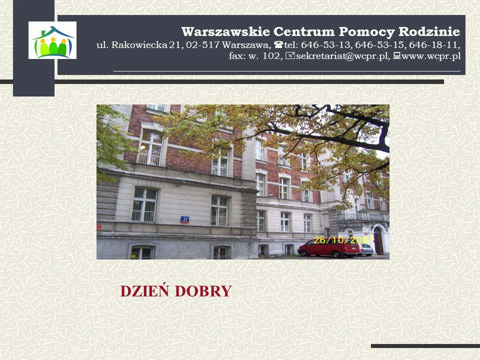 Warszawskie Centrum Pomocy Rodzinie ul