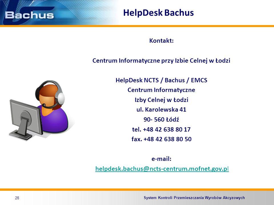 HelpDesk Bachus