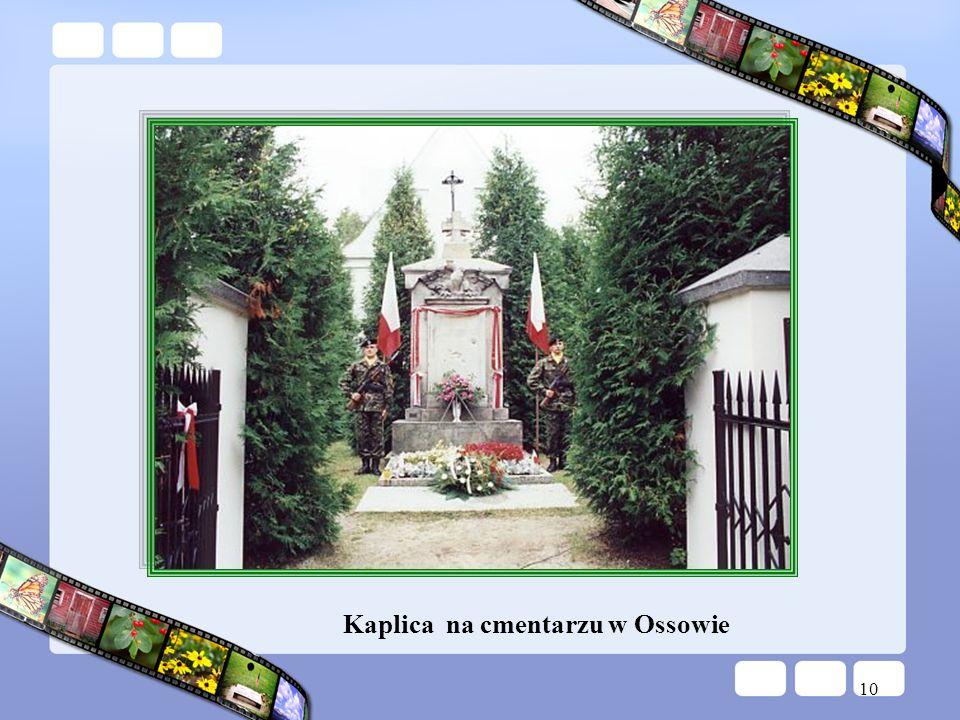 Kaplica na cmentarzu w Ossowie