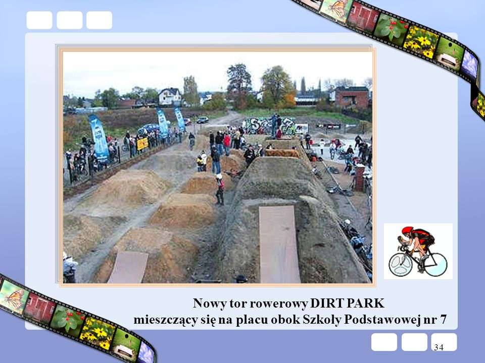 Nowy tor rowerowy DIRT PARK