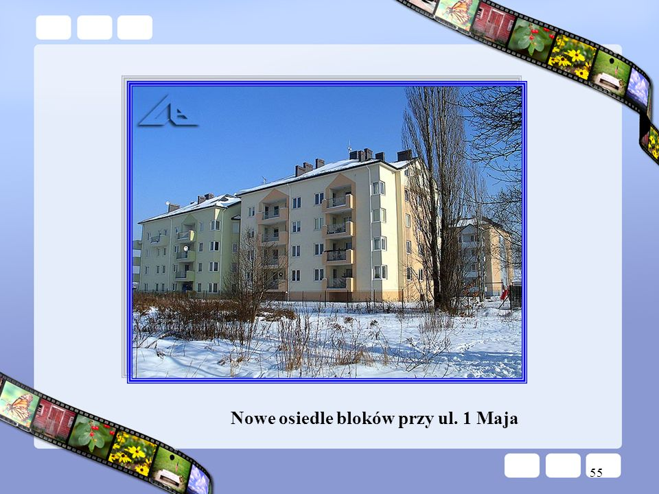 Nowe osiedle bloków przy ul. 1 Maja