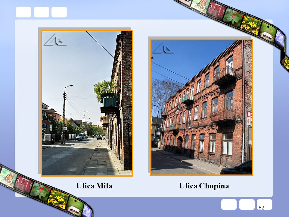 Ulica Miła Ulica Chopina