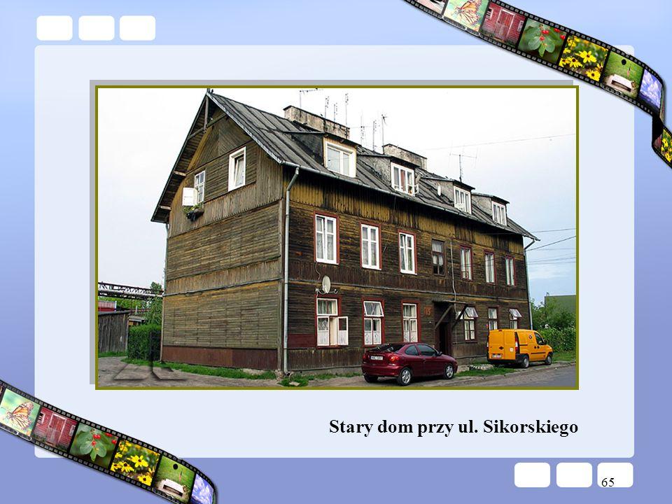 Stary dom przy ul. Sikorskiego