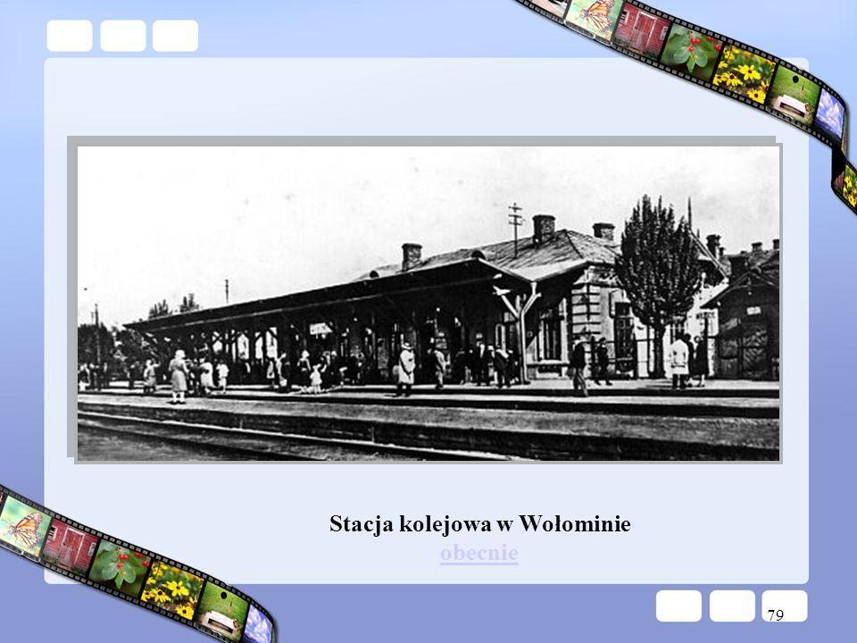 Stacja kolejowa w Wołominie