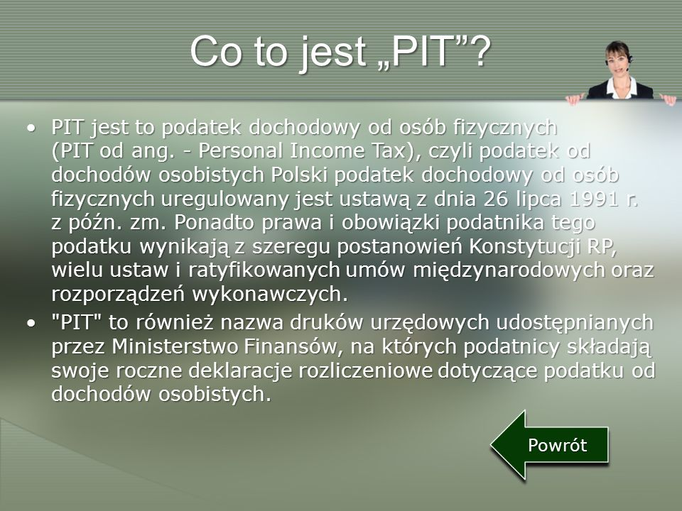 "Co to jest ""PIT"