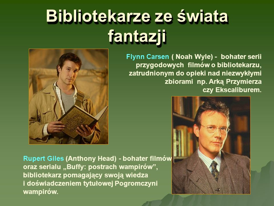 Bibliotekarze ze świata fantazji
