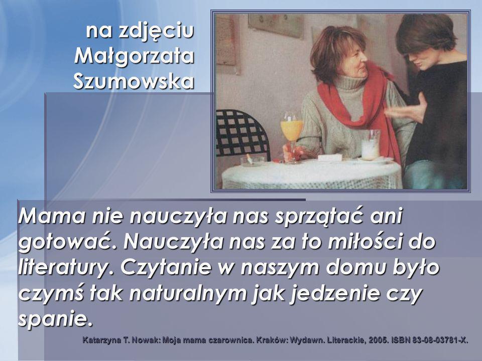 na zdjęciu Małgorzata Szumowska