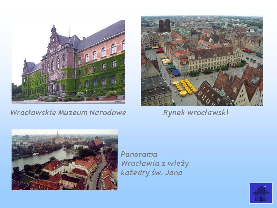 Wrocławskie Muzeum Narodowe Rynek wrocławski
