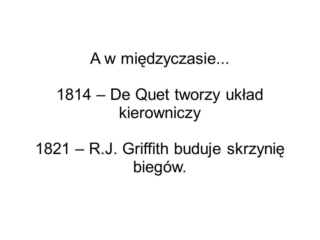 1814 – De Quet tworzy układ kierowniczy