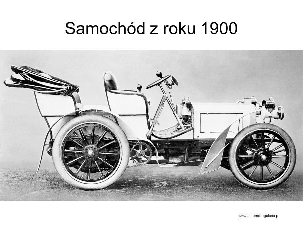 Samochód z roku 1900 www.automotogaleria.pl