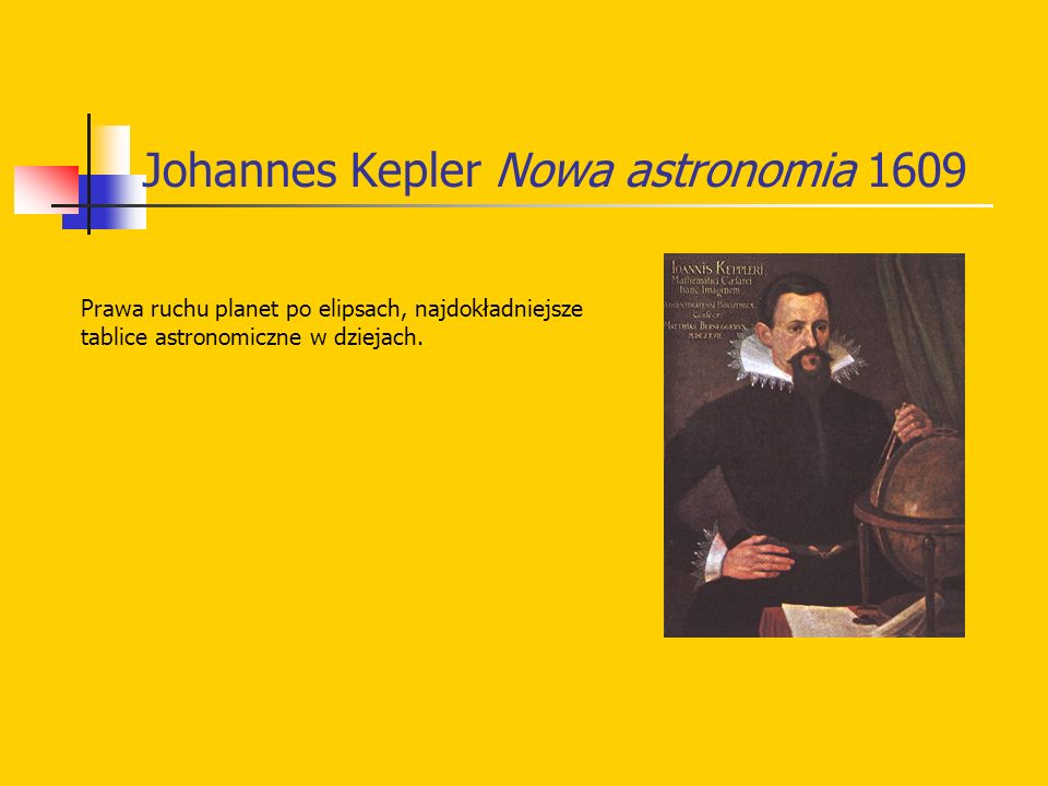 Johannes Kepler Nowa astronomia 1609