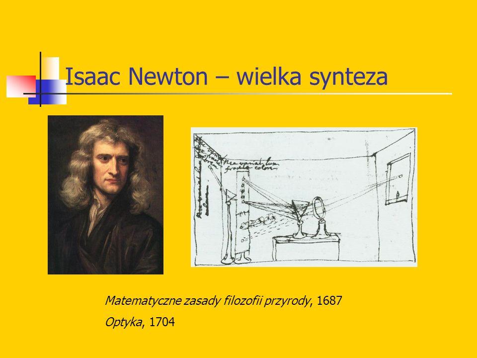 Isaac Newton – wielka synteza