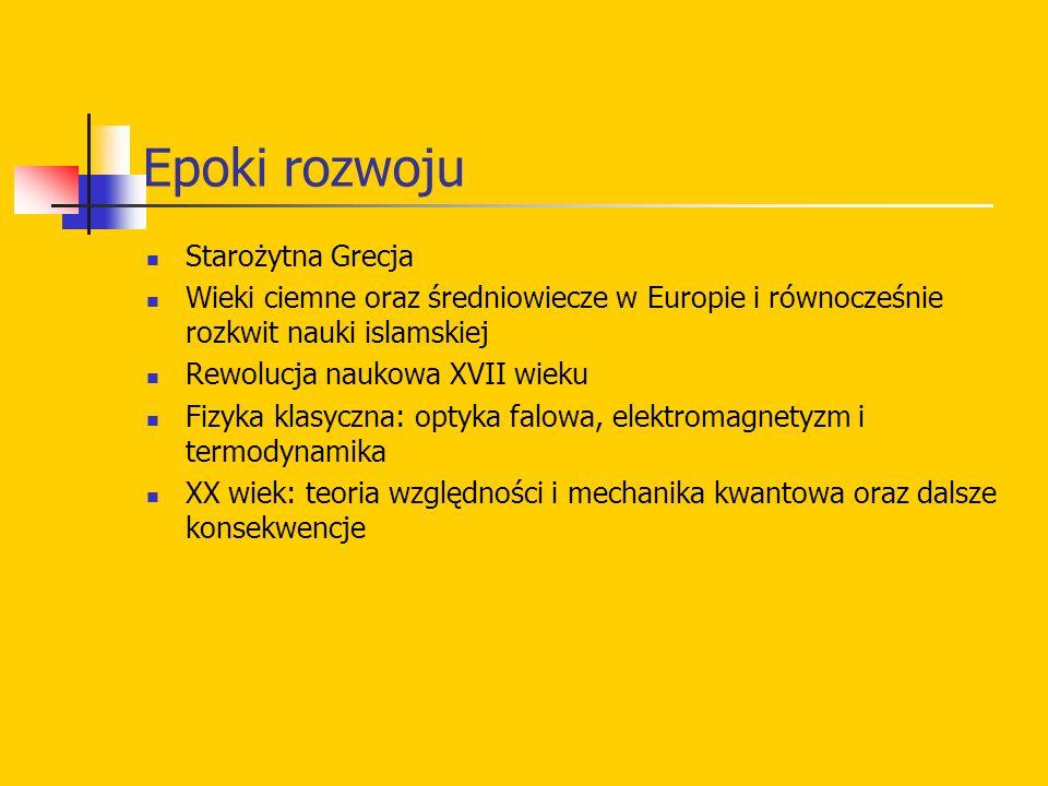 Epoki rozwoju Starożytna Grecja
