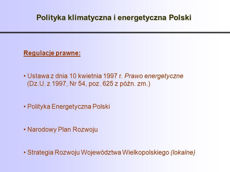 Polityka klimatyczna i energetyczna Polski